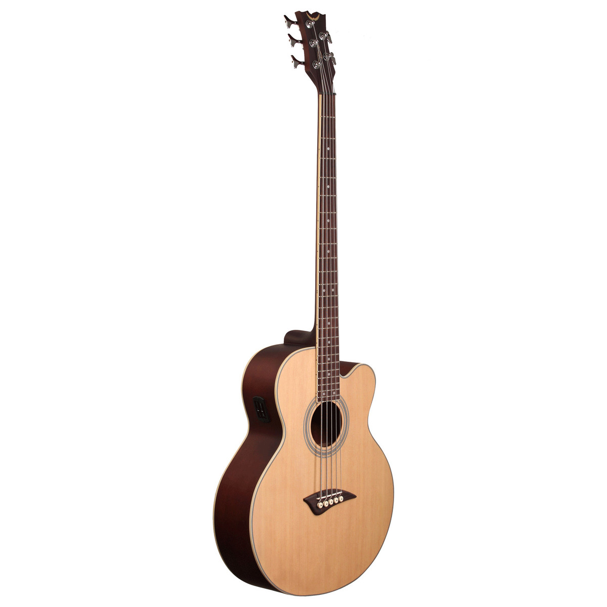 dean eabc5 5 string electro acoustic bass satin natural at gear4music. Black Bedroom Furniture Sets. Home Design Ideas