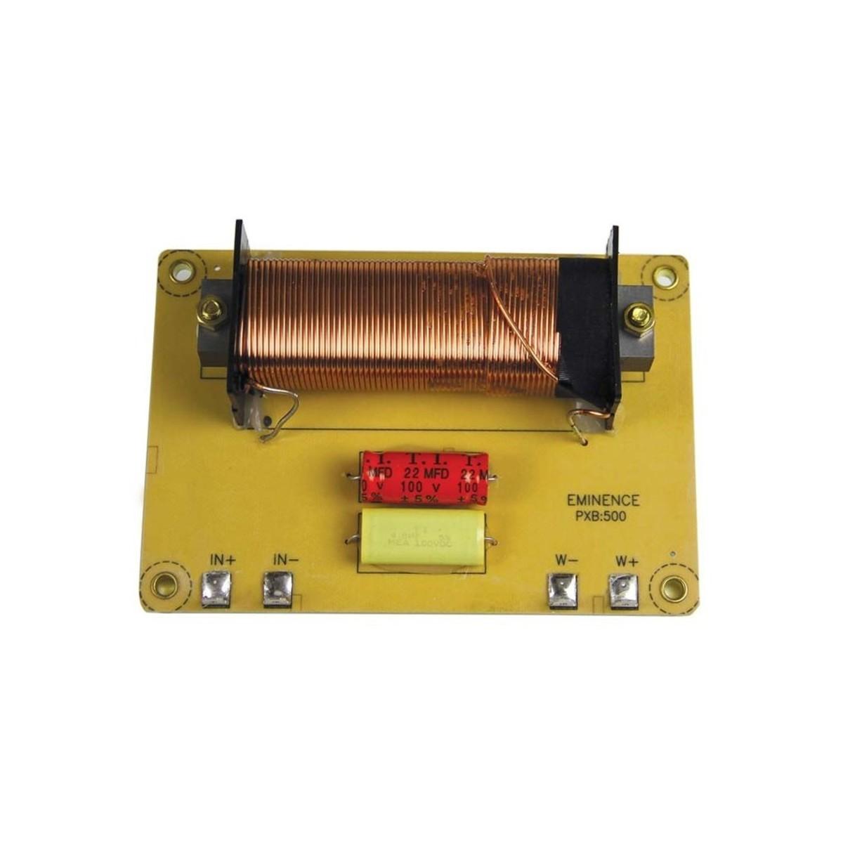 Eminence Pxb500 500 Hz Low Pass Filter At Gear4musiccom Operation Amplifier Lowpass Circuit Lightcontrol Control