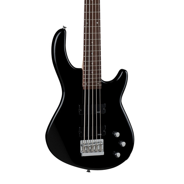 Dean Edge 1 5-String Bass Guitar, Classic Black