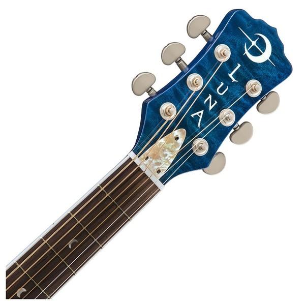Luna Fauna Dolphin Electro Acoustic Guitar Neck & Headstock