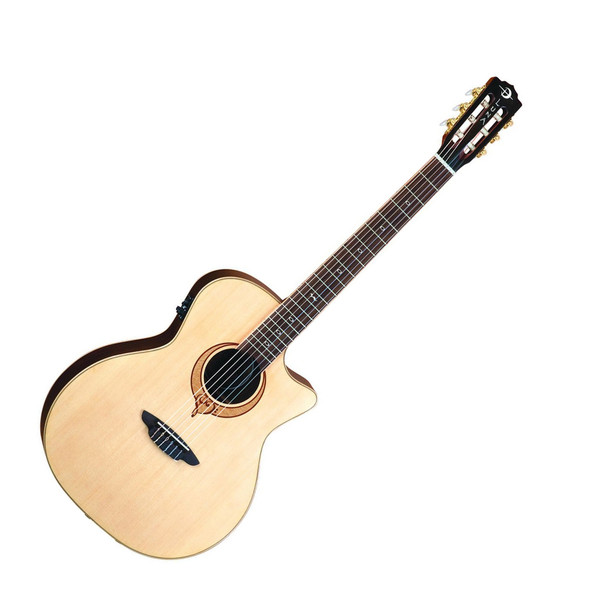 Luna Heartsong Nylon Folk Electro Acoustic Guitar with USB