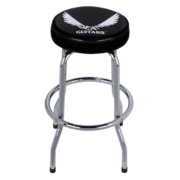 Dean Bar Stool with Dean Logo Front View