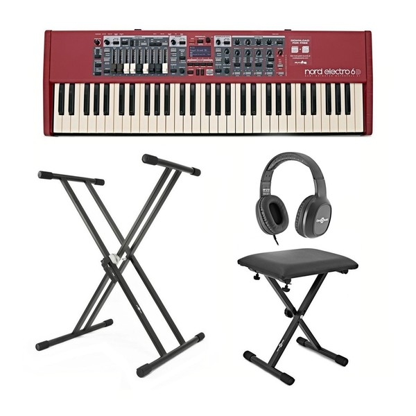 Nord Electro 6D 61-Note Keyboard with Free Accessories - Main