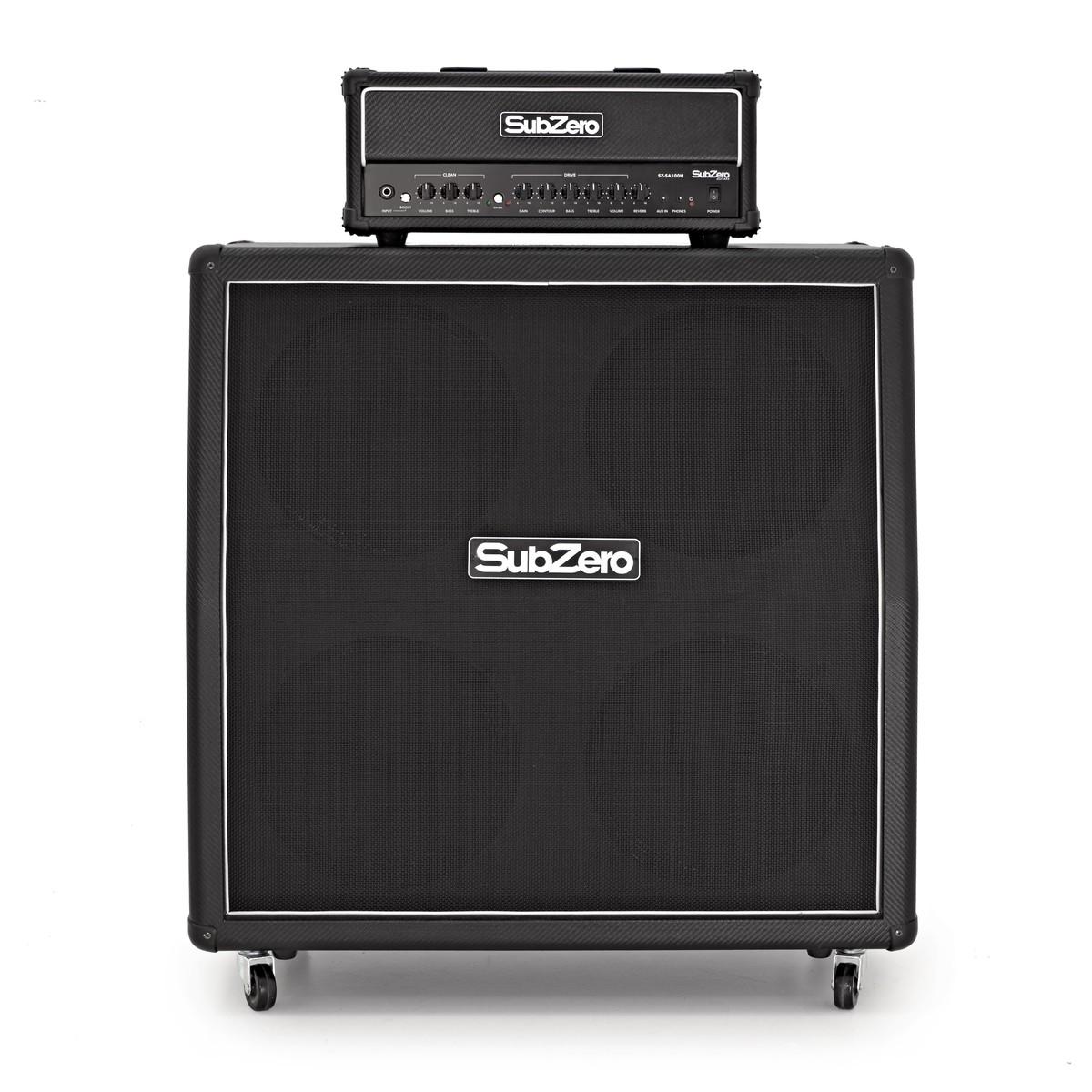 SubZero SA100 4x12 Stack