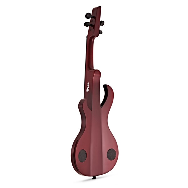 Wood Violins Katana Sabre 4 String Electric Violin, Tiger Cherry back