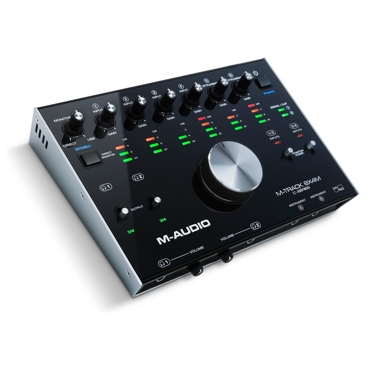 m audio m track 8x4m usb interface at gear4music. Black Bedroom Furniture Sets. Home Design Ideas
