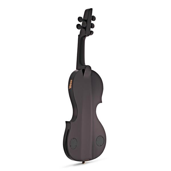 Wood Violins Nashville 5 String Electric Violin, Teak Tiger Maple back