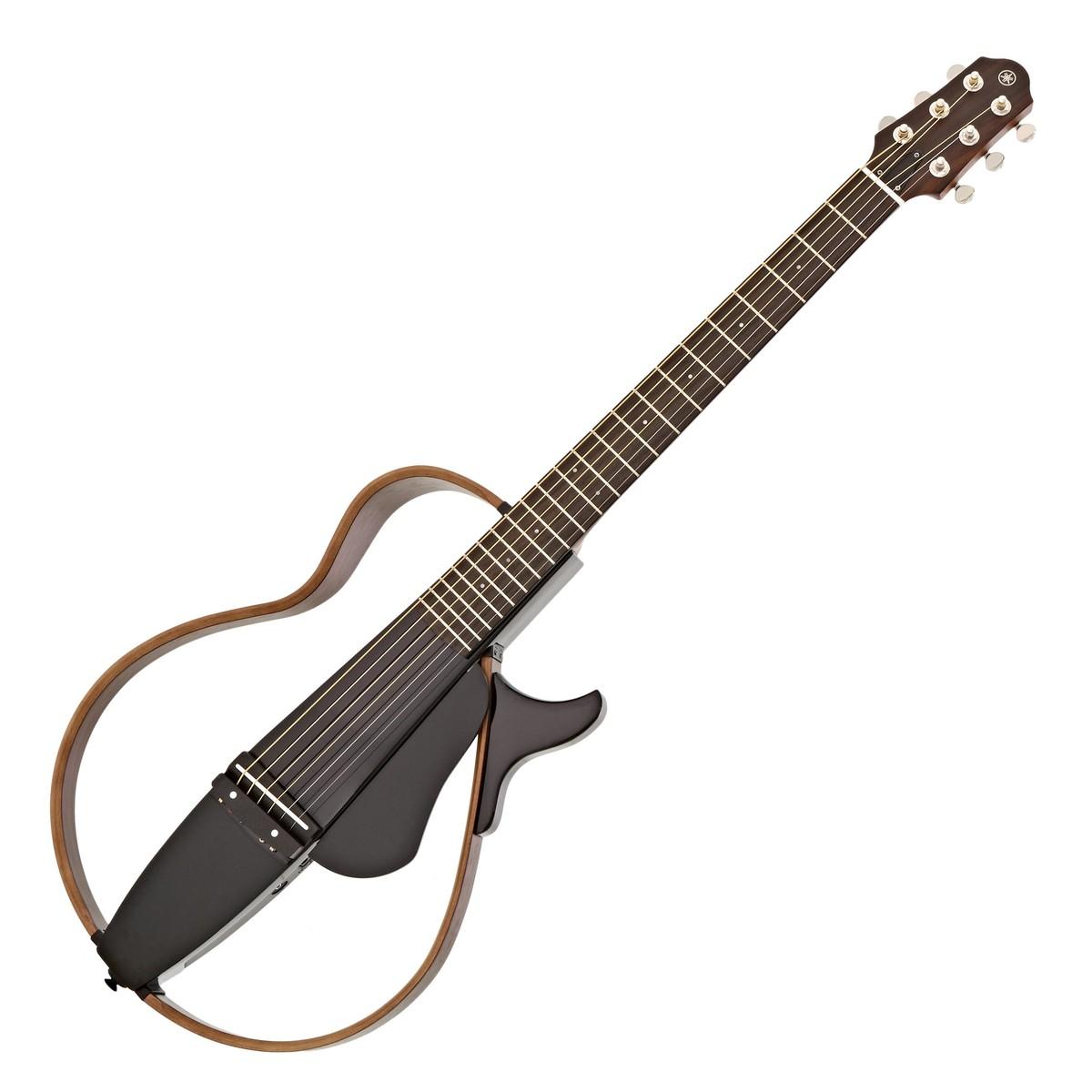 Yamaha Silent Guitar Slg200s : yamaha slg200s steel string silent guitar translucent black at gear4music ~ Vivirlamusica.com Haus und Dekorationen
