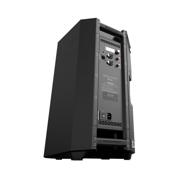 Electro-Voice ZLX-12P 12'' Active 2-Way Loudspeaker, Rear Angled from Bottom