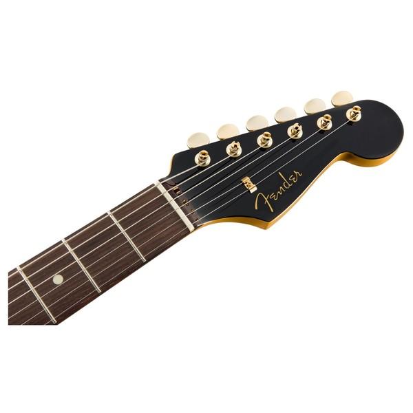 Fender MIJ Midnight Traditional 60s Stratocaster Headstock