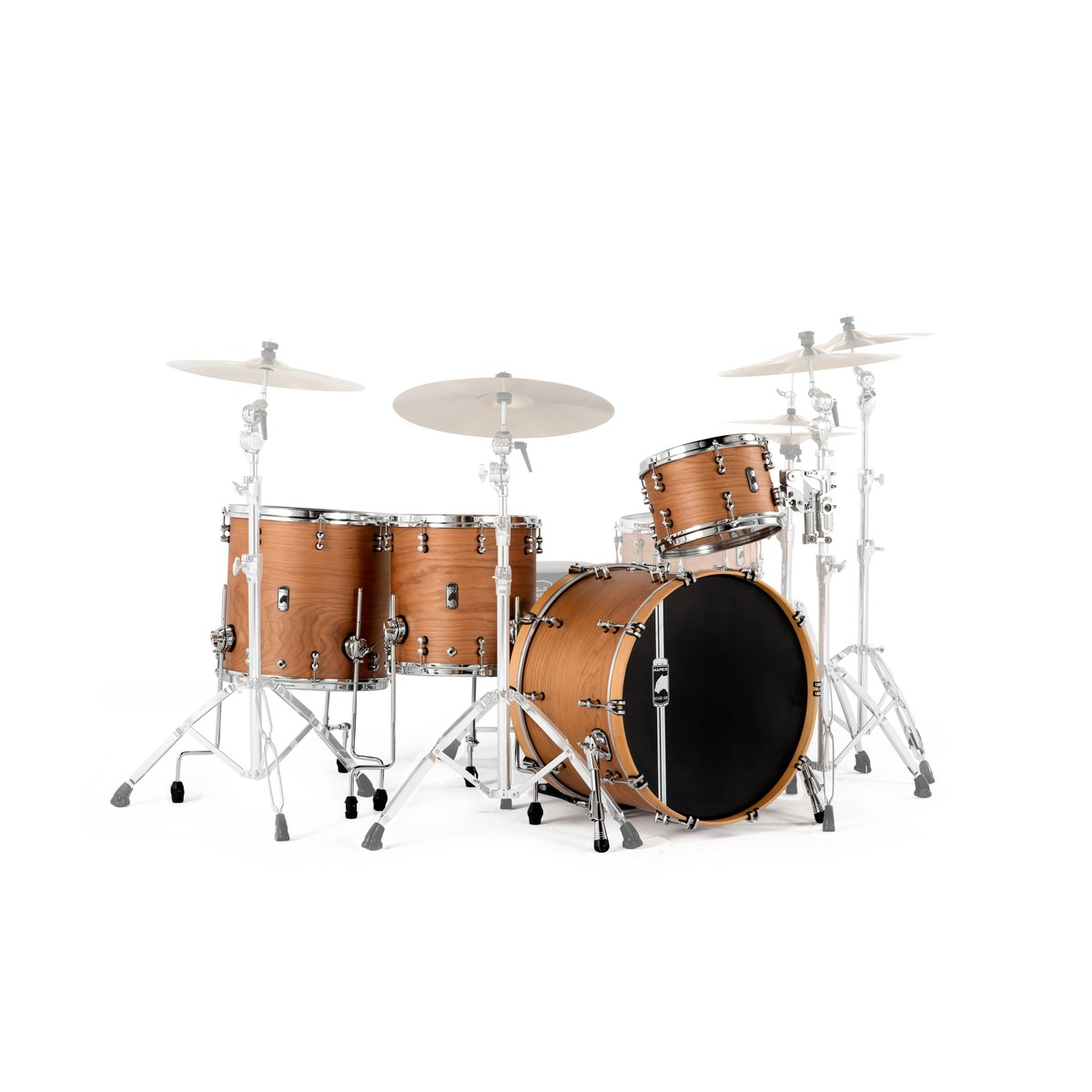 Mapex Design Lab 22 4 Piece Cherry Bomb System Natural Satin At