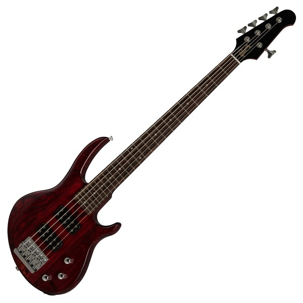 Gibson EB Bass 5 String 2019, Wine Red Satin