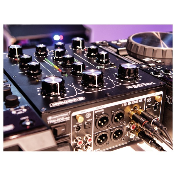 Omnitronic TRM-202MK3 2-Channel Rotary Mixer - Lifestyle 2