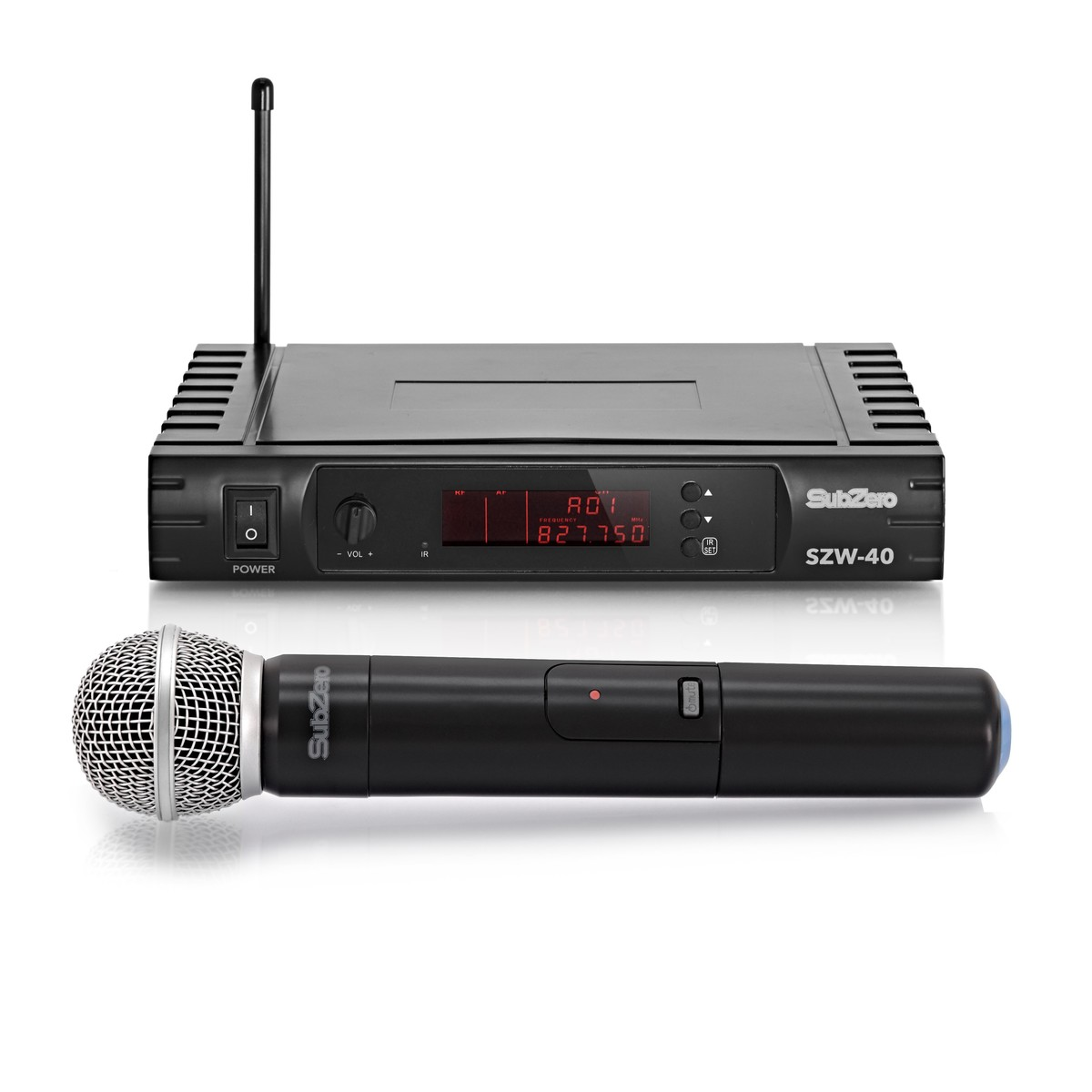 subzero szw 40 handheld wireless microphone system at gear4music. Black Bedroom Furniture Sets. Home Design Ideas
