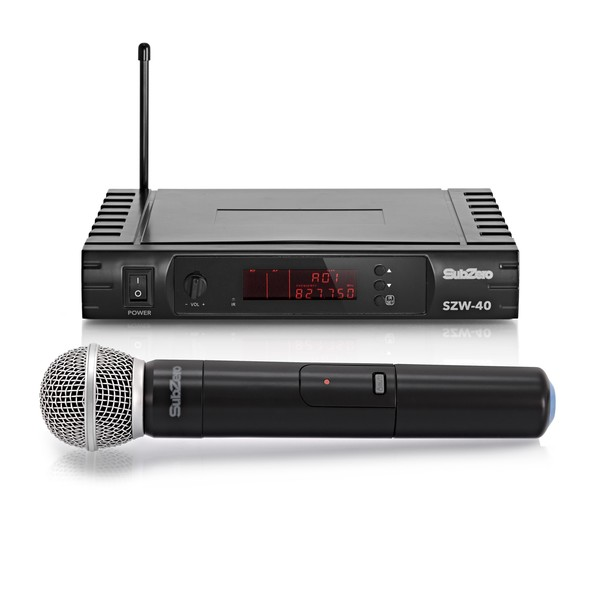 SubZero SZW-40 Handheld Wireless Microphone System