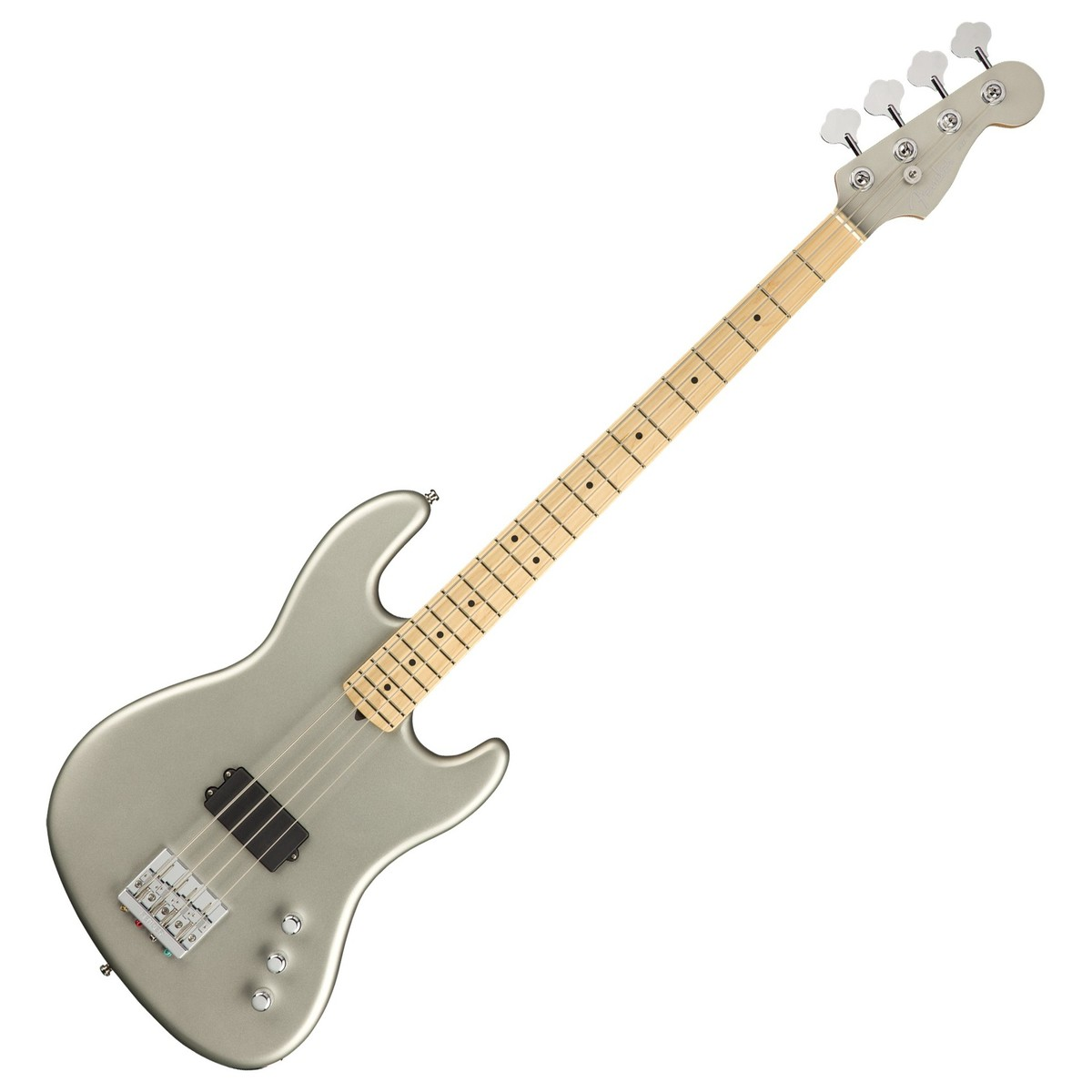fender flea jazz bass active mn satin inca silver at gear4music. Black Bedroom Furniture Sets. Home Design Ideas