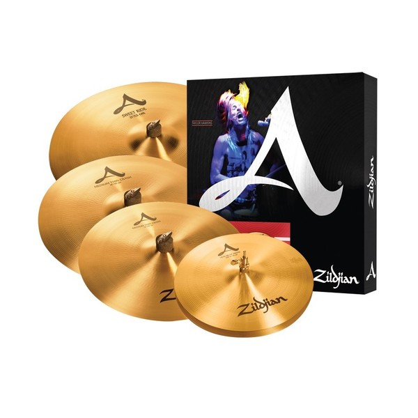 Zildjian A391 Cymbal Box Set with Free 18'' A Medium Thin Crash - Main Image