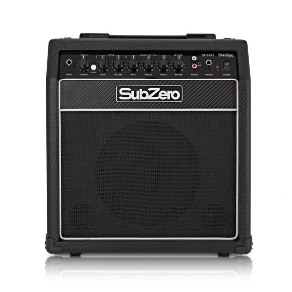 SubZero SA15 15W Solid State Combo Amplifier with Reverb