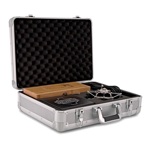 Sontronics MERCURY Vintage Edition Mic & Vintage Mullard Vacuum Tube case open