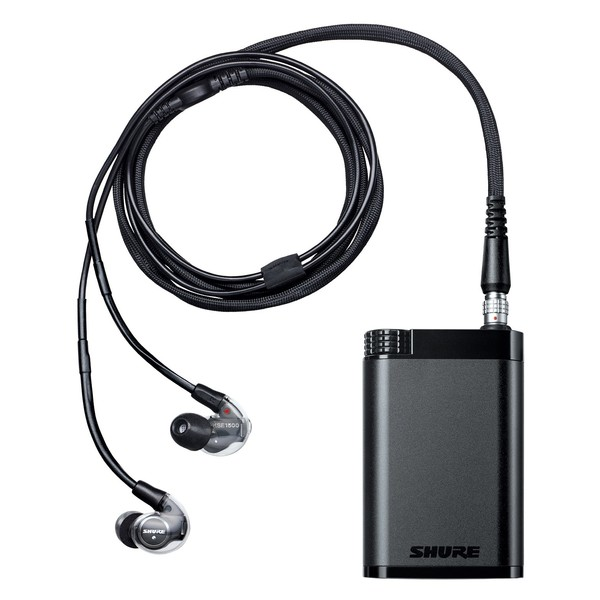Shure KSE1200 Electrostatic Earphone System, Full System Front Shot