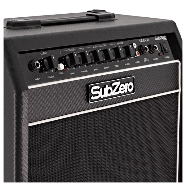 SubZero SZ-SA30 30W Solid State Combo Amplifier with Reverb