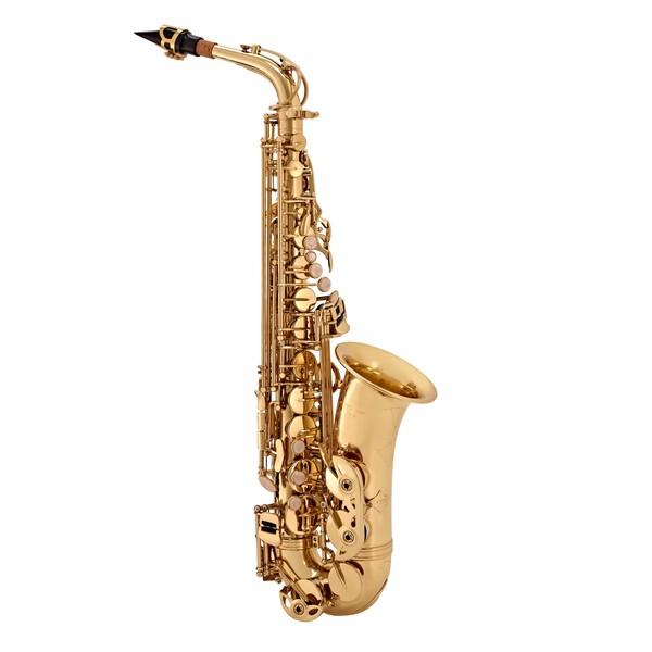 Alto Saxophone by Gear4music, Gold main