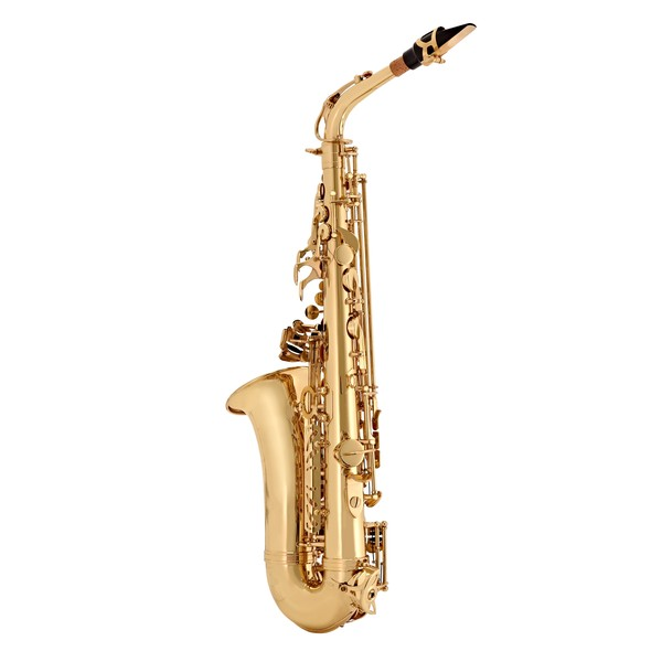 Alto Saxophone by Gear4music, Gold back