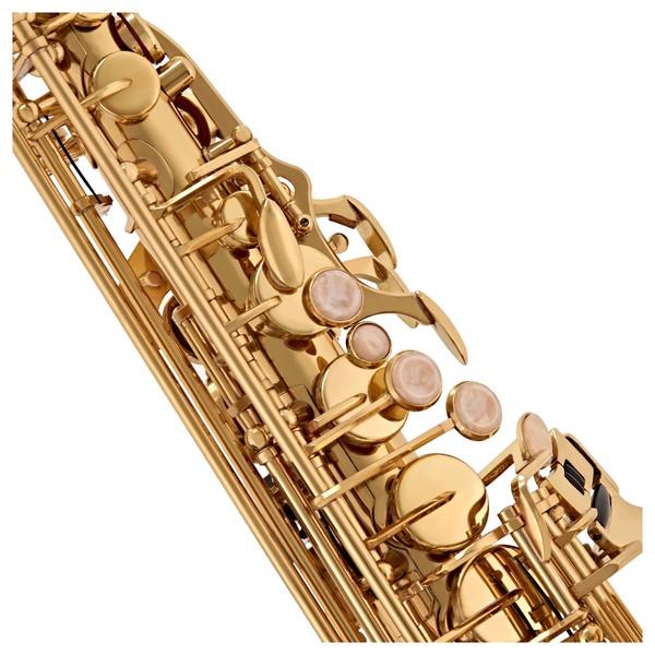 Alto Saxophone by Gear4music, Gold keys