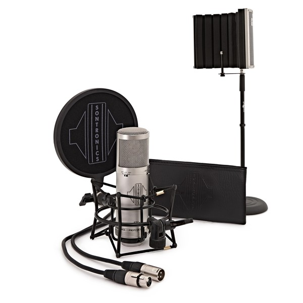 Sontronics STC-3X Vocal Recording Pack, Silver