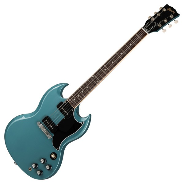 gibson sg special 2019 faded pelham blue at gear4music. Black Bedroom Furniture Sets. Home Design Ideas