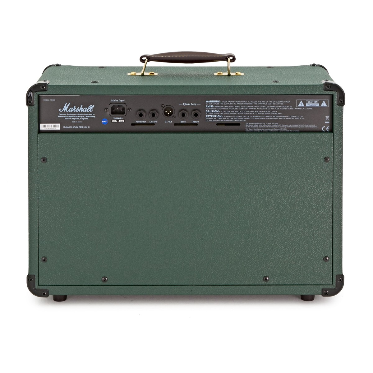 marshall as50d acoustic amp limited edition racing green at gear4music. Black Bedroom Furniture Sets. Home Design Ideas