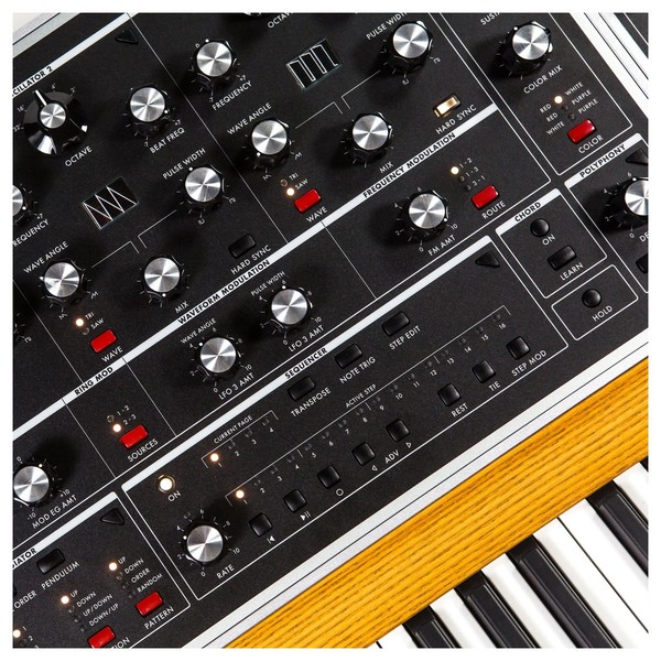 Moog ONE Polyphonic Analog Synthesizer, 8-Voice - Detail
