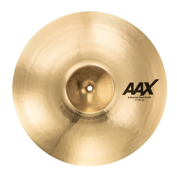 Sabian AAX 17'' X-Plosion Fast Crash Cymbal, Brilliant Finish - Main Image