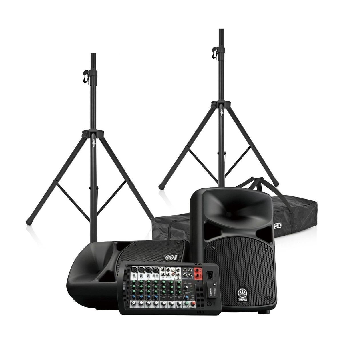 yamaha stagepas 600bt portable pa system with speaker. Black Bedroom Furniture Sets. Home Design Ideas