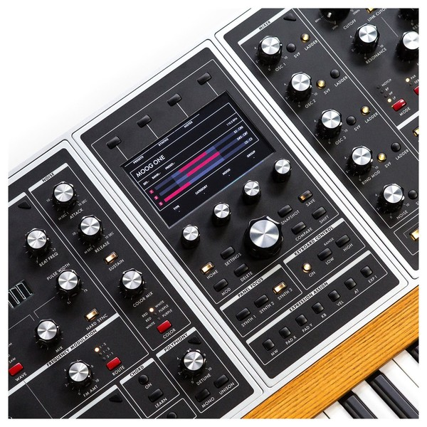 Moog ONE Polyphonic Analog Synthesizer, 16-Voice - Detail Top