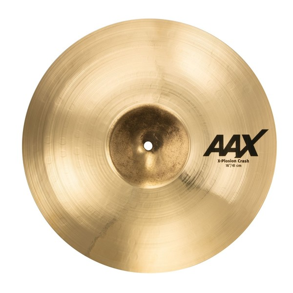 Sabian AAX 16'' X-Plosion Crash Cymbal, Brilliant Finish - Main Image