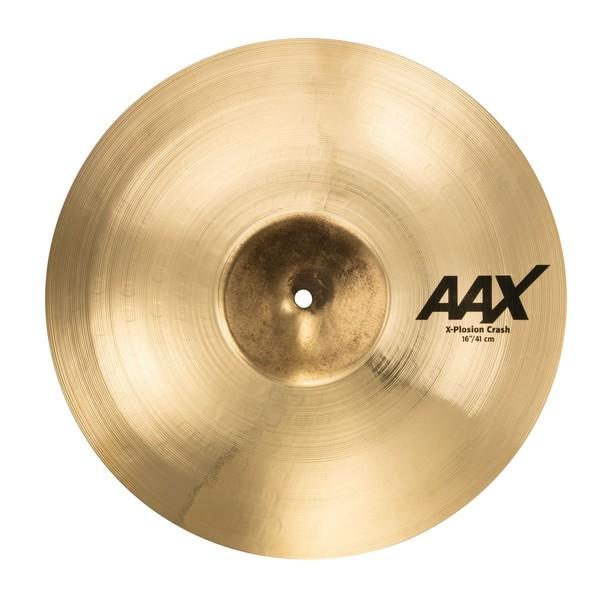Sabian AAX 16'' X-Plosion Crash Cymbal, Brilliant Finish - Main Image