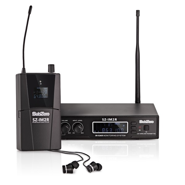 SubZero SZ-IM2 Stereo In Ear Monitoring System