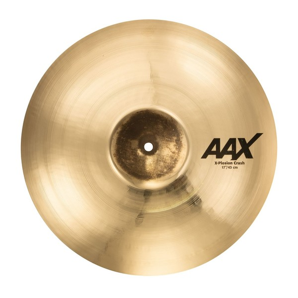 Sabian AAX 17'' X-Plosion Crash Cymbal, Brilliant Finish - Main Image