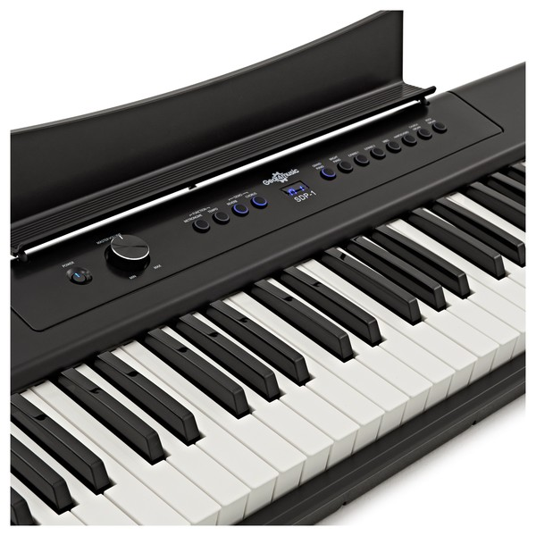 SDP-1 Piano-Style Keyboard by Gear4music + Stand and Headphones