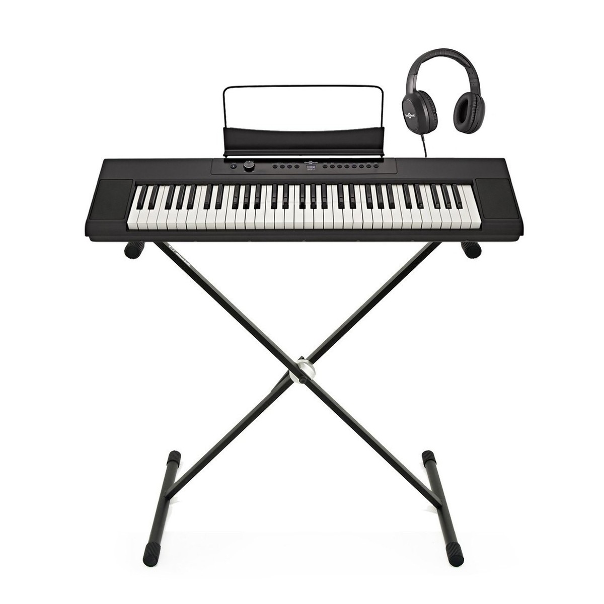 sdp 1 portable digital piano by gear4music stand and headphones at gear4music. Black Bedroom Furniture Sets. Home Design Ideas