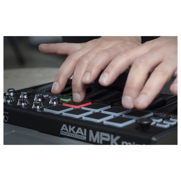 Akai MPK Mini Black - Pads