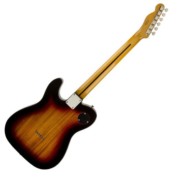 Fender Modern Player Telecaster Thinline Deluxe, 3 Colour Sunburst Back