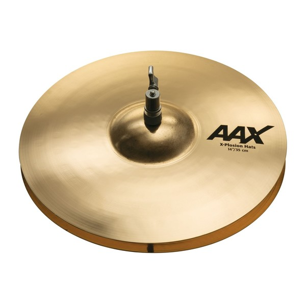 Sabian AAX 14'' X-Plosion Hi-Hat Cymbals, Brilliant Finish - Overhead