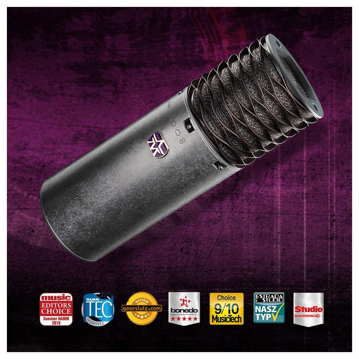 aston mikrofoner halo mikrofon refleksjonsfilter, svart