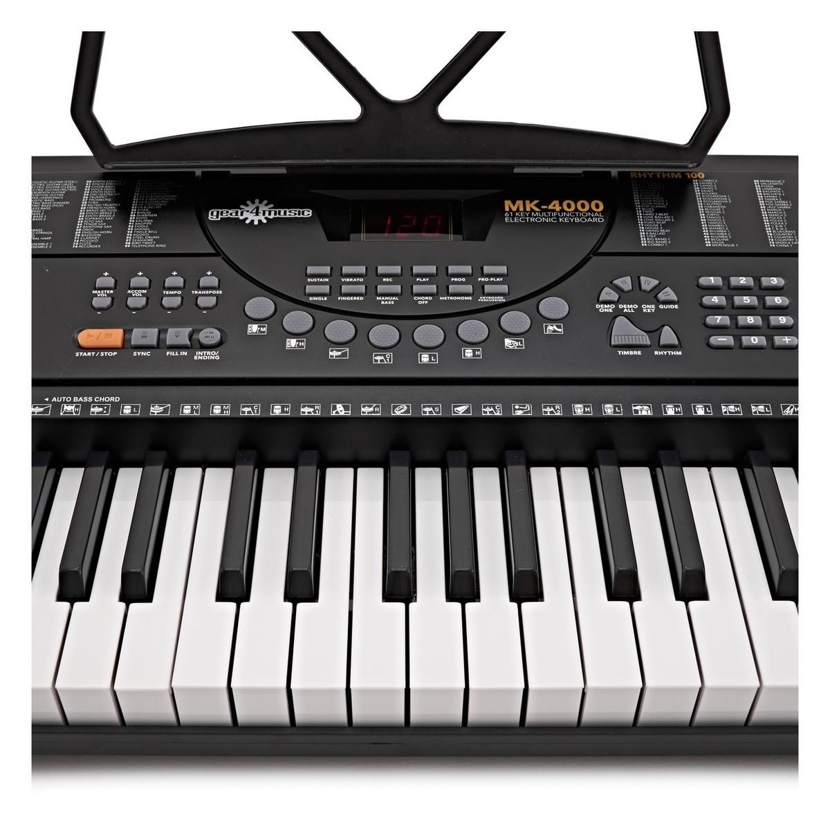 mk 4000 61 key keyboard by gear4music b stock at gear4music. Black Bedroom Furniture Sets. Home Design Ideas