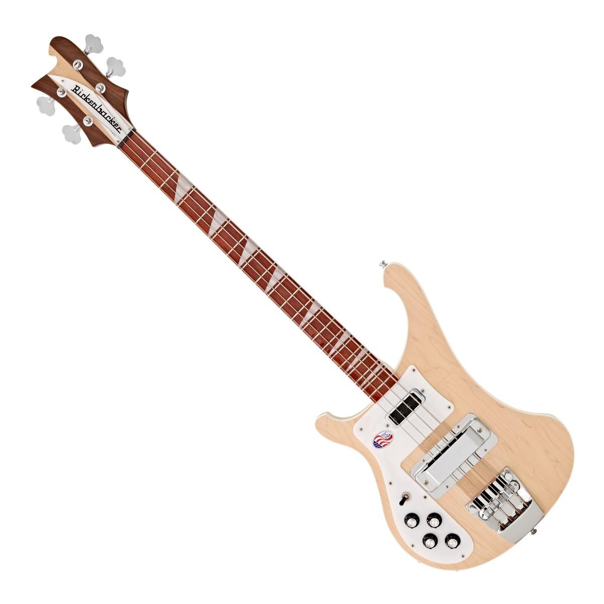 rickenbacker 4003 left handed bass guitar mapleglo at gear4music. Black Bedroom Furniture Sets. Home Design Ideas