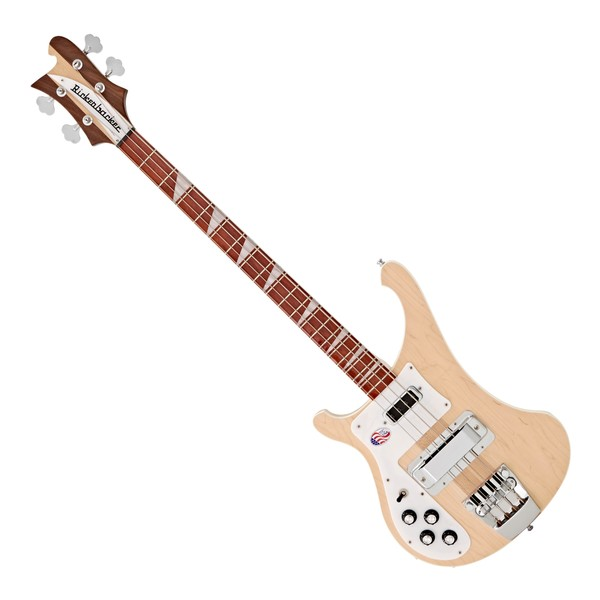 Rickenbacker 4003 Left Handed Bass Guitar, Mapleglo main