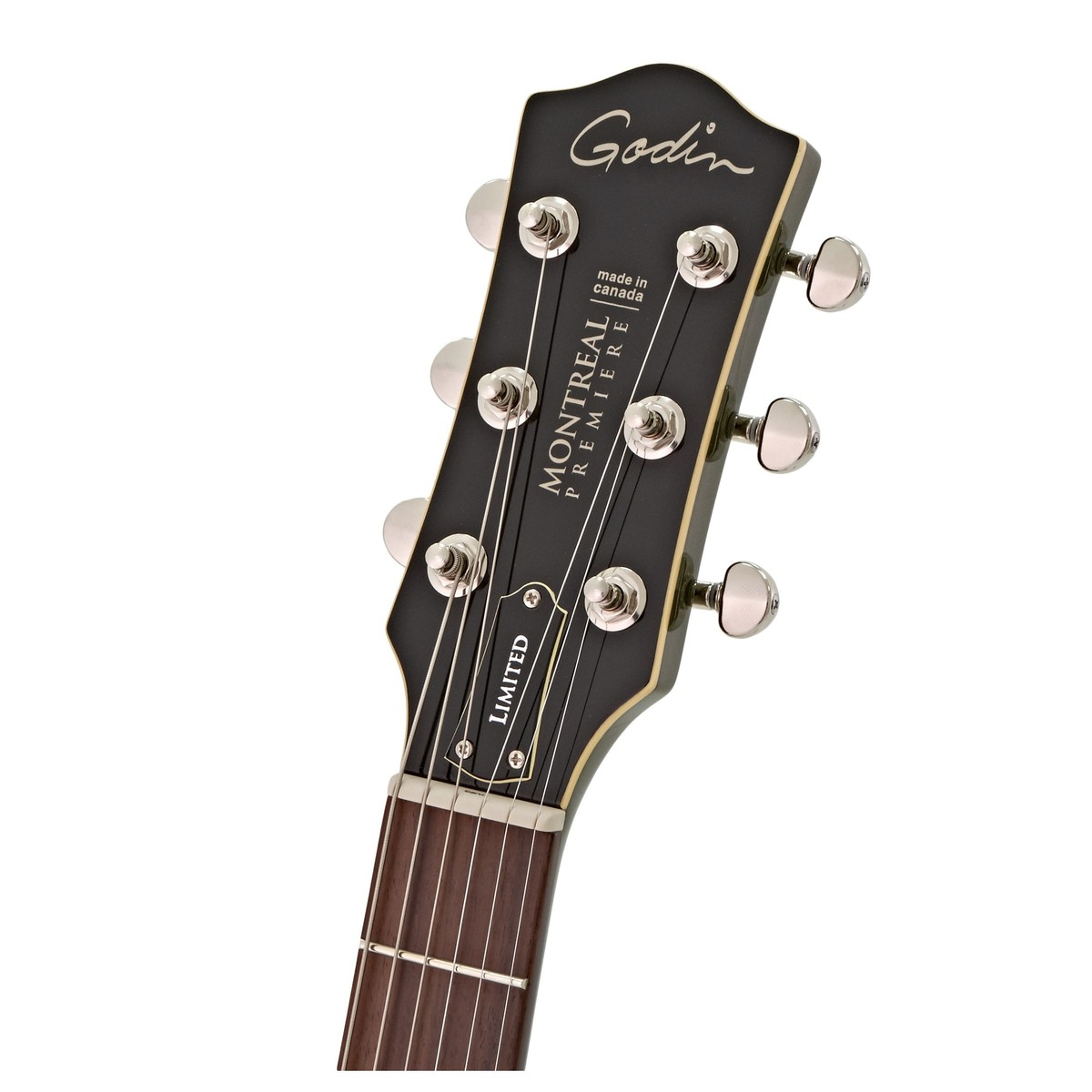 Godin Montreal Premiere Ltd W Bigsby Desert Green At Gear4music Re Switching Options For P90 Humbucker Combination