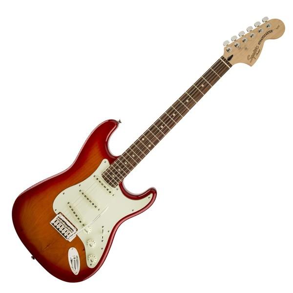 Squier Standard Stratocaster, Cherry Sunburst - Front